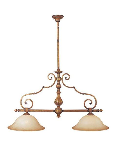 La Scalla 2-Light 2-Light Linear Pendant Light