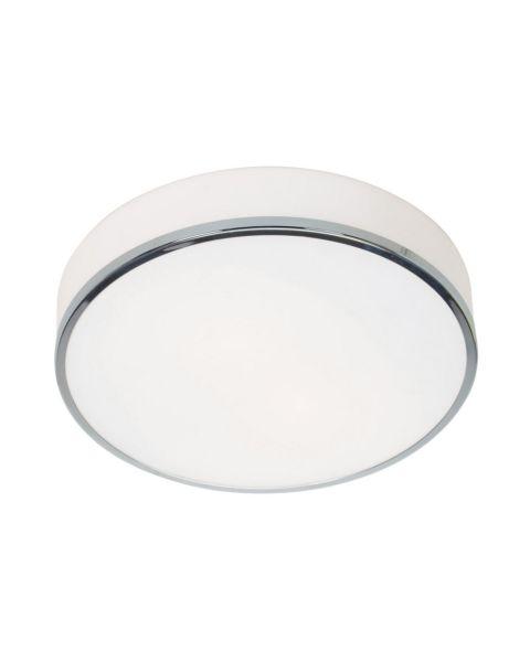 Aero 2-Light Opal Glass Ceiling Light