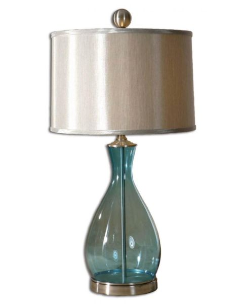 Colored Glass Lamps Table Lamp