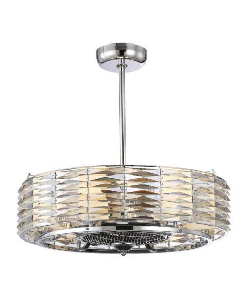 Taurus 6-Light Air Ionizing Fan d'Lier