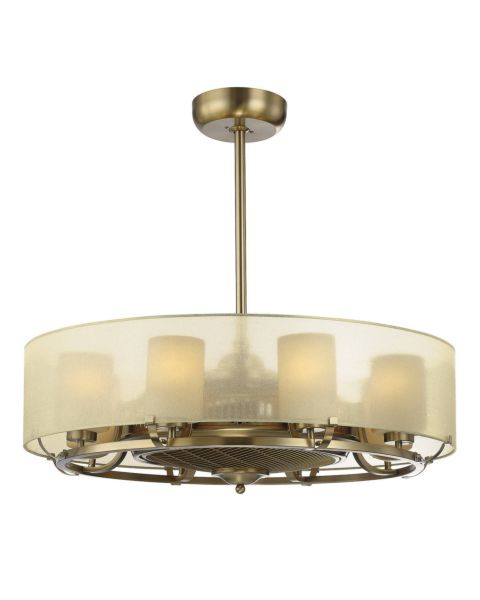 Vinton 8-Light Air Ionizing Fan d'Lier