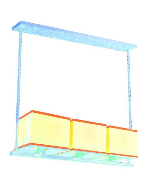 Tribeca 3-Light Linear Pendant Light
