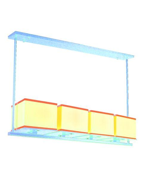 Tribeca 4-Light Linear Pendant Light