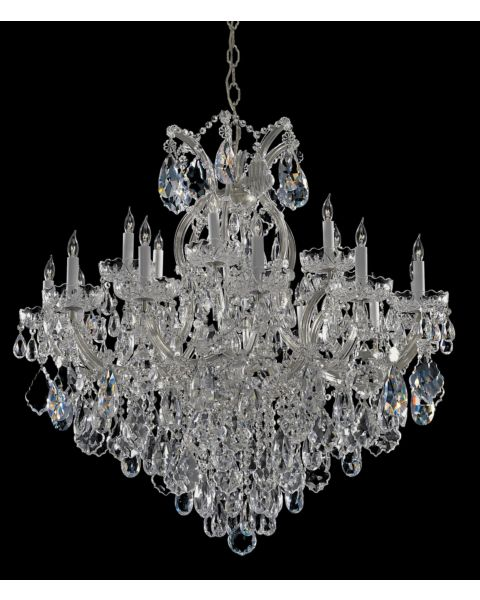 Maria Theresa 18-Light Hand Cut Crystal Chandelier
