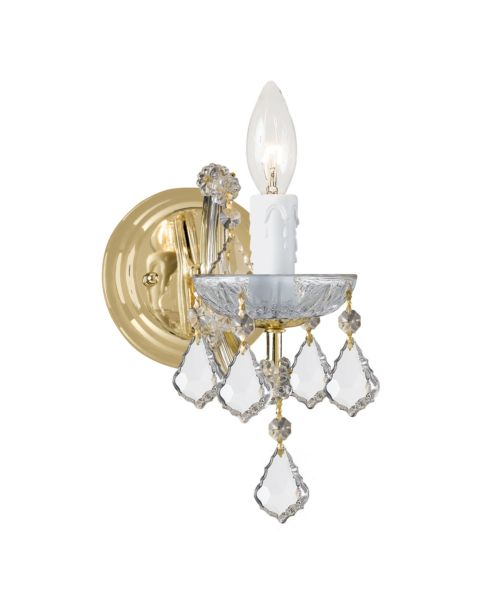 Maria Theresa Hand Cut Crystal Sconce