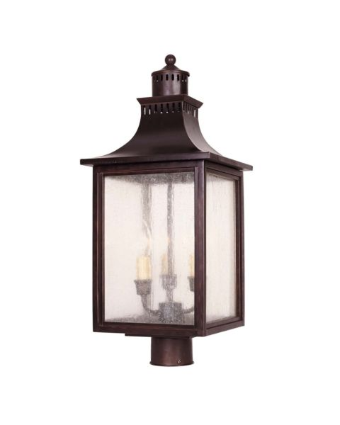 Monte Grande 3-Light Post Lantern