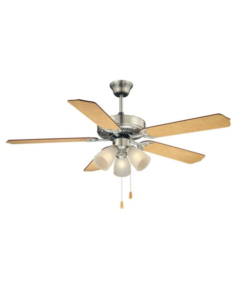 First Value 52-inch 3-Light Ceiling Fan