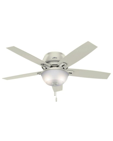 Donegan 52-inch 2-Light LED Indoor Low Profile Ceiling Fan