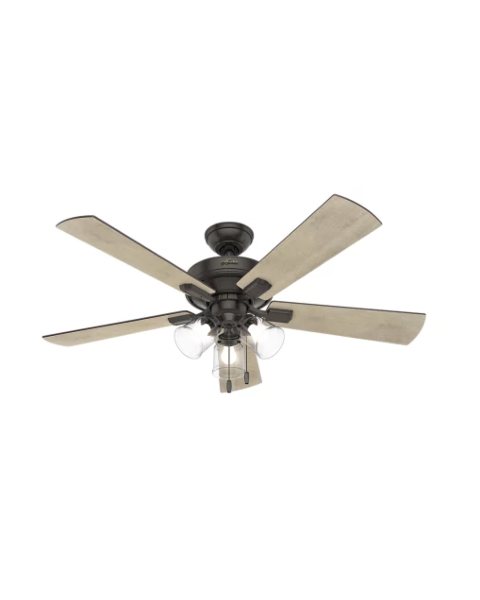 Crestfield 52-inch 3-Light Ceiling Fan