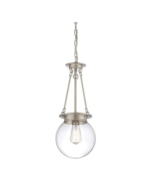 Glass Orb Pendant Light