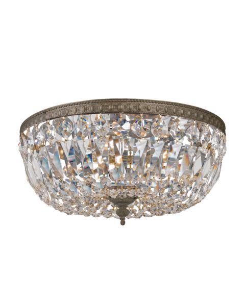 Richmond 3-Light Hand Cut Crystal Ceiling Light