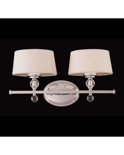 Murren 2-Light Bathroom Vanity Light