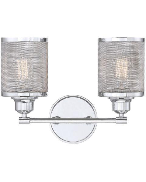 Salvador 2-Light Bathroom Vanity Light
