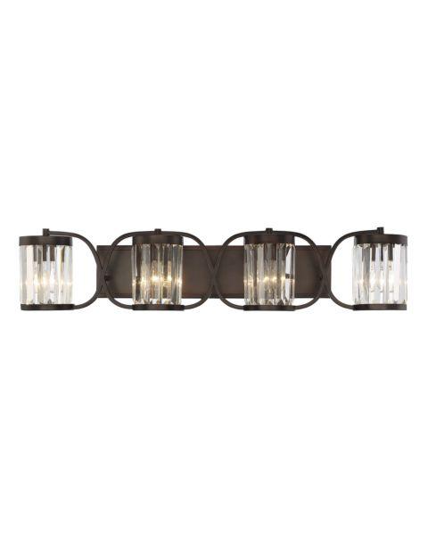 Nora 4-Light Bathroom Vanity Light