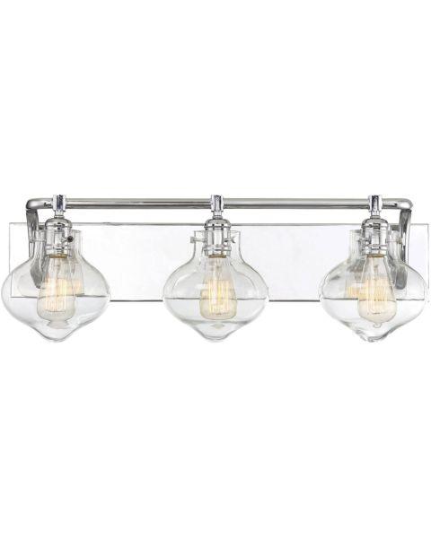 Allman 3-Light Bathroom Vanity Light