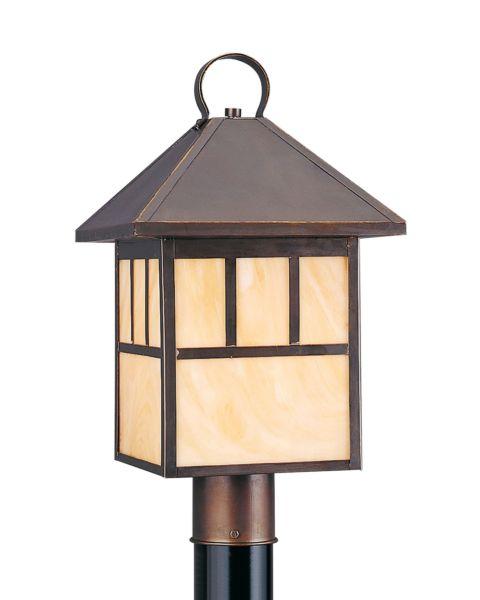 Prairie Statement Outdoor Post Lantern