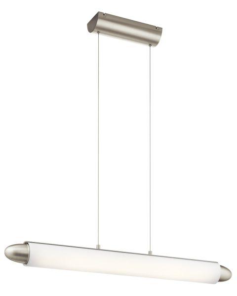 Ultrix LED Bent Glass Linear Pendant Light