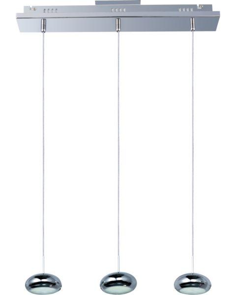 Dial 3-Light Linear Pendant Light