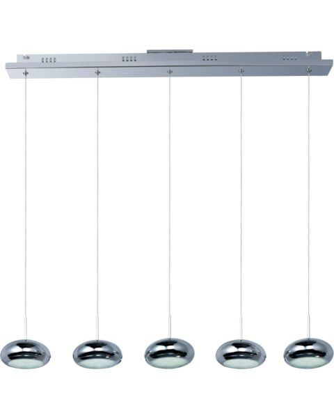 Dial 5-Light Linear Pendant Light