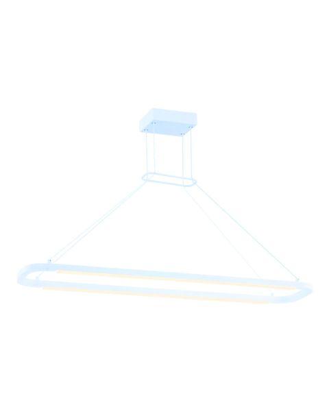 Jibe LED 2-Light Linear Pendant Light