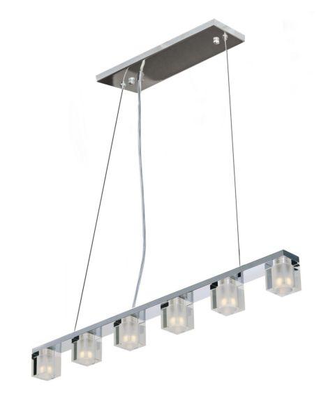 Blocs LED 6-Light Linear Pendant Light