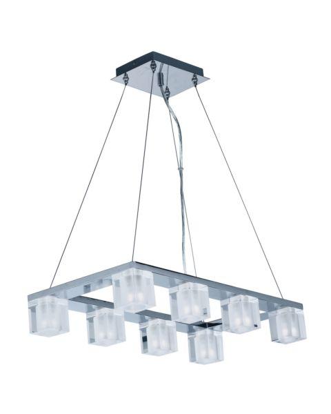 Blocs LED 8-Light Linear Pendant Light