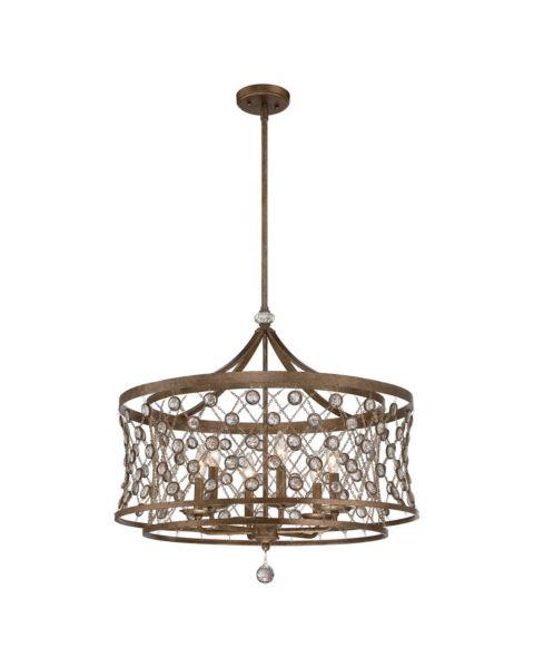 Vel Catena 6-Light Foyer Light Pendant Light