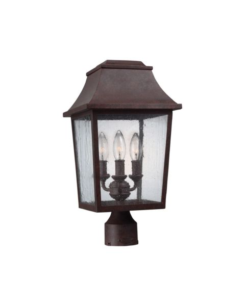 Estes 3-Light Outdoor Post Lantern