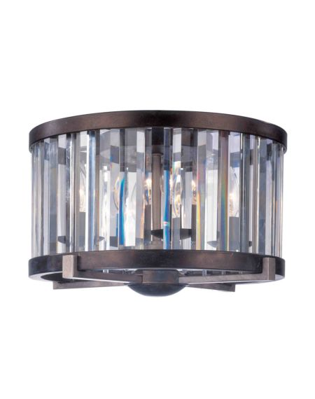 Foster Ceiling Light with Cut Crystal Shade