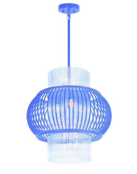 Aviary 13-Light Clear Pendant Light