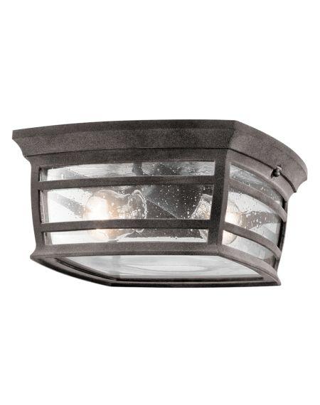 McAdams 2-Light Outdoor Flush & Ceiling Light