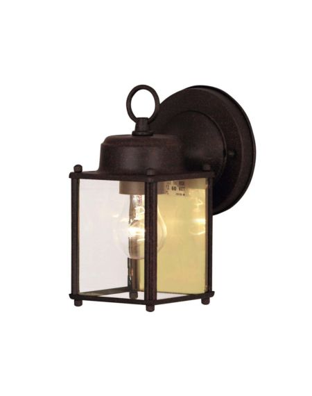 Exterior Collections in Rust Outdoor Wall Light