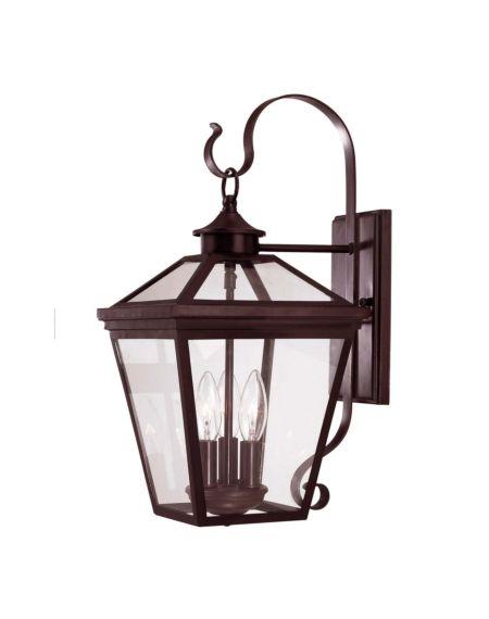 Ellijay 3-Light Outdoor Wall Lantern