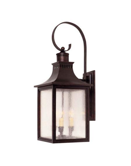 Monte Grande 3-Light Outdoor Wall Lantern
