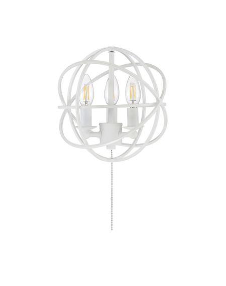 North 3-Light 2700K Fan Light Kit