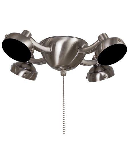 4-Light Ceiling Fan Light Kit in Pewter