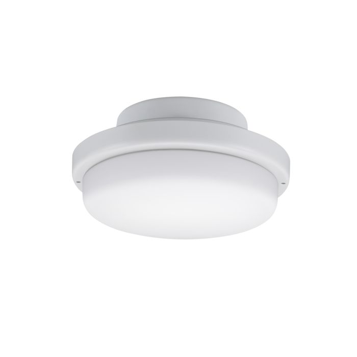 Fanimation Triaire Custom Indoor Outdoor Ceiling Fan Light Kit In Matte White
